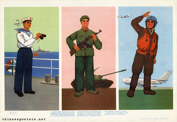 People's Liberation Army, 1980