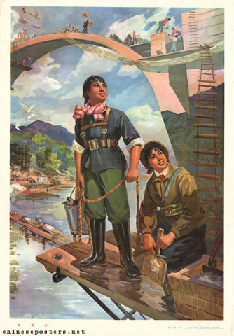 Female bridge workers