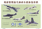 Several types of fighters and bombers used by America and Chiang Kai-Shek, ca. 1971